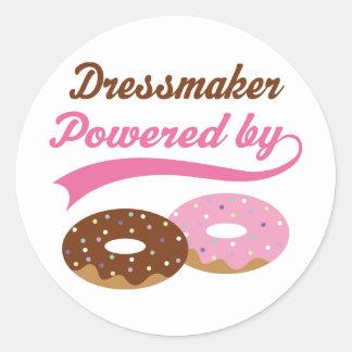 Dressmaker Funny Gift Sticker