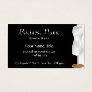 Dressmaker Mannequin Sewing Fashion Business Cards