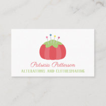 Dressmaker Seamstress Tailor Business Card