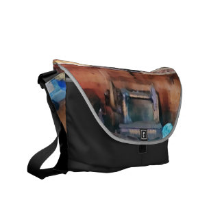 Dressmaking Supplies and Sewing Machine Messenger Bags