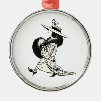 Dressup in Black and White Christmas Ornaments
