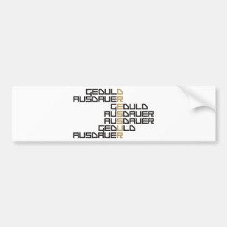 Dressur Car Bumper Sticker