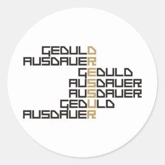 Dressur Classic Round Sticker