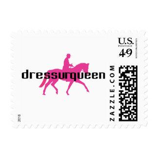 Dressurqueen - reina del dressage timbre postal