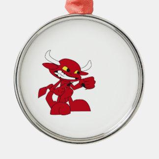 Drevil Little Devil Metal Ornament