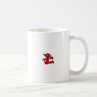 Drevil trowel coffee mug