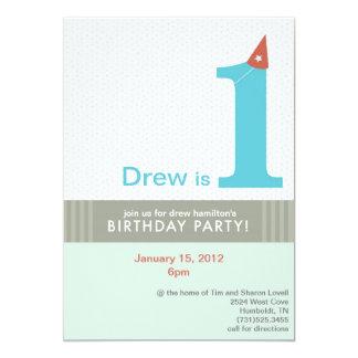 Drew Birthday Invitation