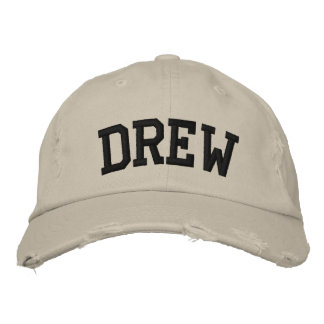 Drew Embroidered Hat
