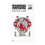 Drew Family Crest Stamps