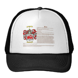 Drew (meaning) trucker hat