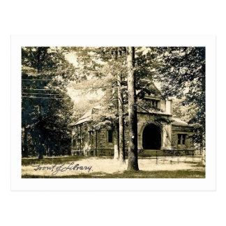 Drew Seminary Library, Madison, NJ Vintage Postcard