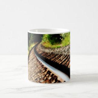 Drew Sullivan -  Railroad Tracks Coffee Mug