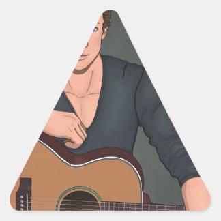 Drew Triangle Sticker