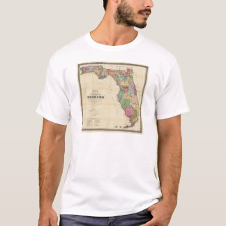 Drew's New Map Of The State Of Florida T-Shirt