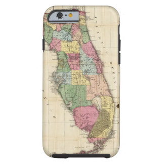 Drew's New Map Of The State Of Florida Tough iPhone 6 Case