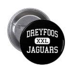 Dreyfoos - Jaguars - Junior - West Palm Beach Pinback Button
