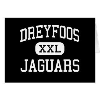 Dreyfoos - Jaguars - Junior - West Palm Beach Greeting Card
