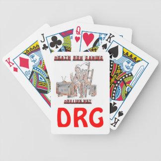 DRG clan playing cards