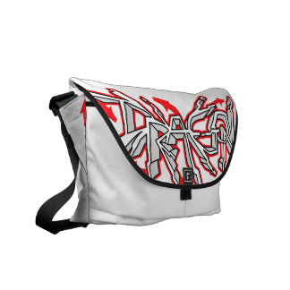 Drgn I Ivory (Ruby) Messenger Bag