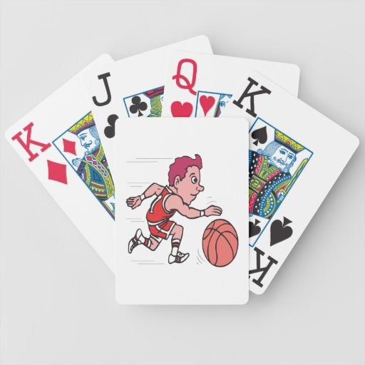 Dribble 3 bicycle playing cards