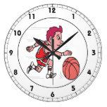 Dribble 3 wall clock