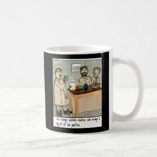 Dribble Beaker Laboratory Humor Coffee Mug