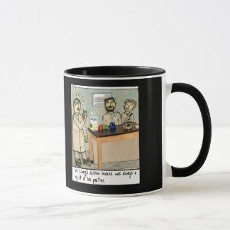Dribble Beaker Laboratory Humor Mug