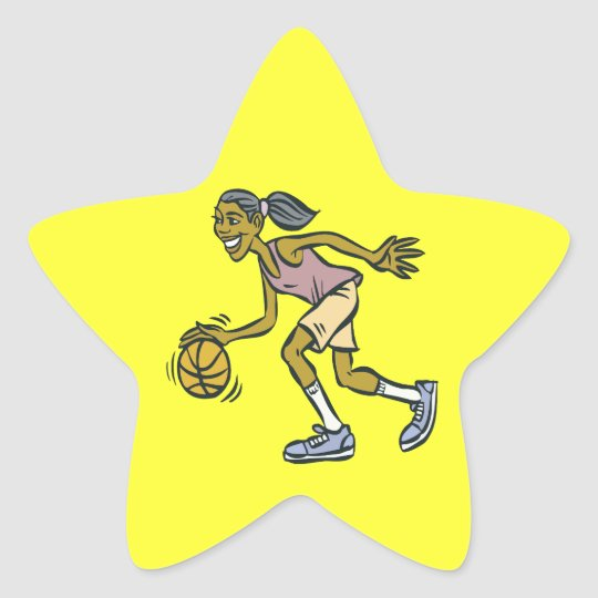 Dribble Star Sticker