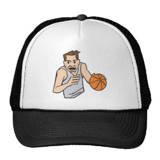 Dribble Trucker Hat