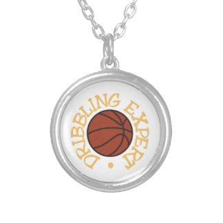 Dribbling Expert Round Pendant Necklace
