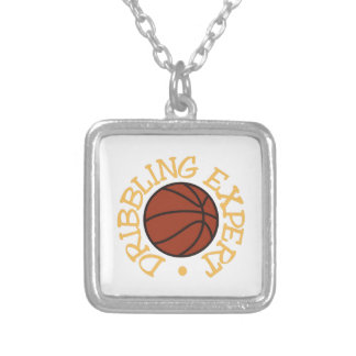 Dribbling Expert Square Pendant Necklace