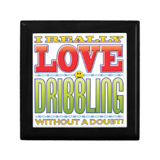 Dribbling Love Face Jewelry Boxes