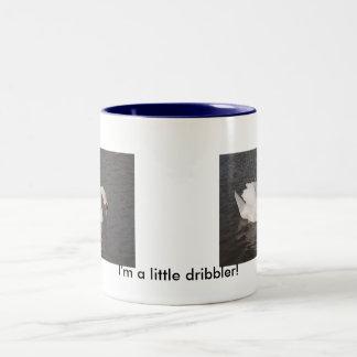 Dribbling Mute Swan Coffee Mug