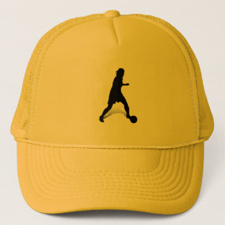 Dribbling Striker Trucker Hat