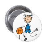 Dribbling The Basketball Button