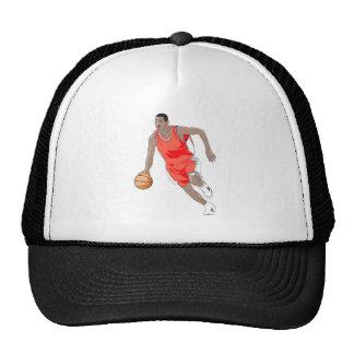 dribbling trucker hat