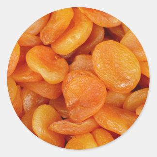 dried-apricots-357879  dried apricots apricots dri classic round sticker