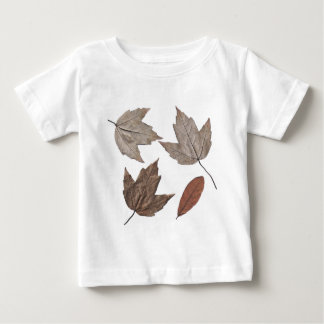 Dried Autumn Leaves Baby T-Shirt