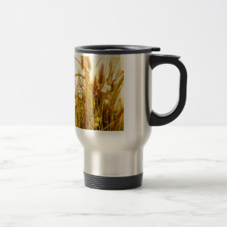Dried Autumn Wild Grasses Travel Mug