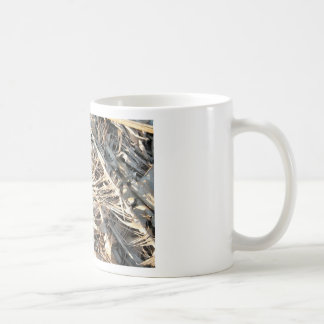 Dried Banana tree fronds background Coffee Mugs