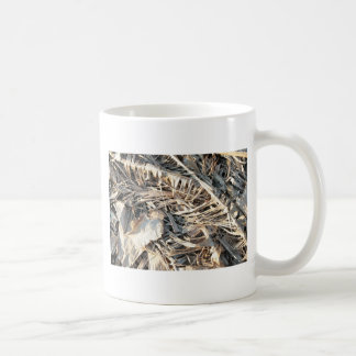 Dried Banana tree fronds background Mug