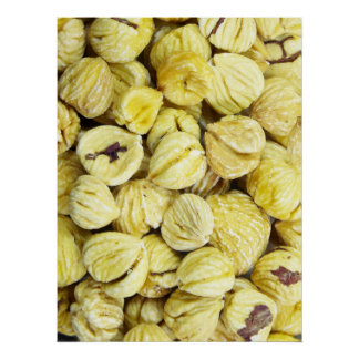 Dried Chestnuts Poster