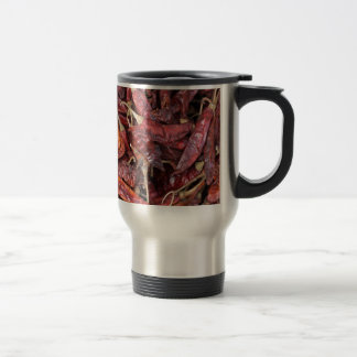 Dried Chili Peppers Travel Mug