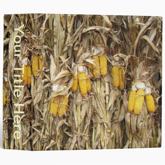 Corn Stalk Decoration Ideas: Dried Corn Stalk Decorations 3 Ring Binder