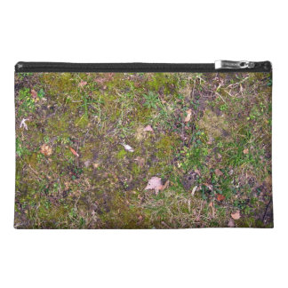 Dried Fallen Leaves on Grass Ground - Completely S Travel Accessory Bags