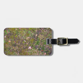 Dried Fallen Leaves on Grass Ground - Completely S Bag Tag