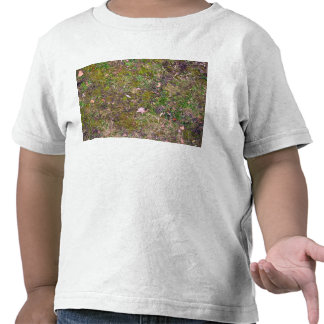 Dried Fallen Leaves on Grass Ground - Completely S T-shirt