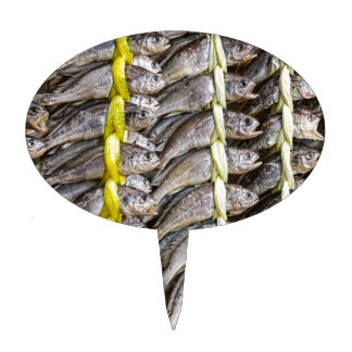 Dried Fish Cake Topper