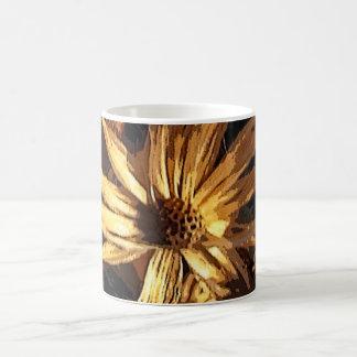 Dried Flower Abstract Coffee Mug