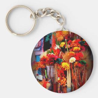 Dried Flowers - Vivid Marketplace Photos Keychain